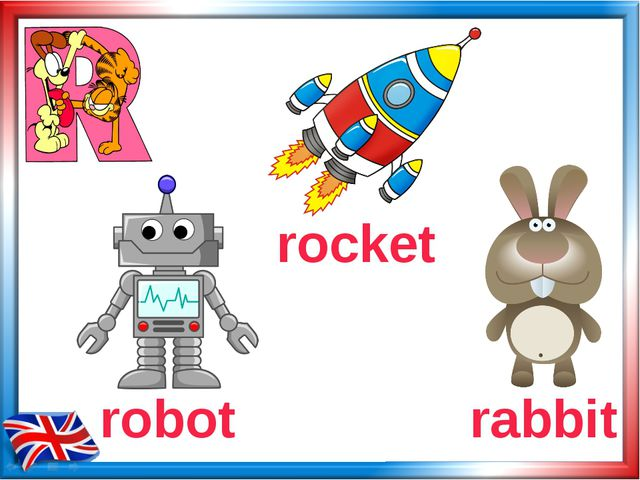 robot rabbit rocket