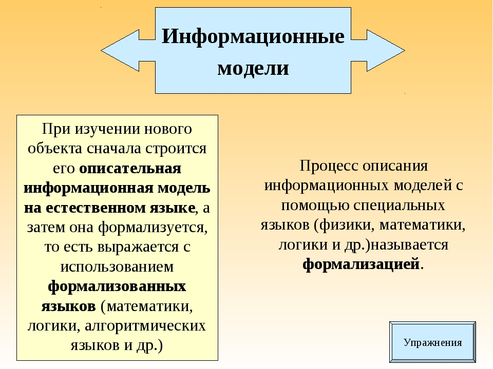 При изучении нового объекта сначала строится его описательная информационная...