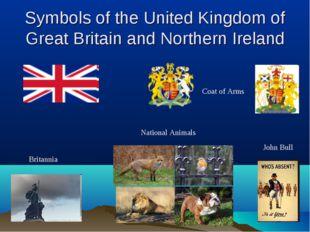 Symbols of the United Kingdom of Great Britain and Northern Ireland Britannia