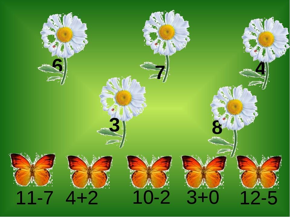 11-7 4+2 10-2 12-5 7 8 3 6 4 3+0