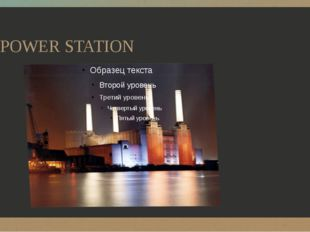 POWER STATION ‹#›