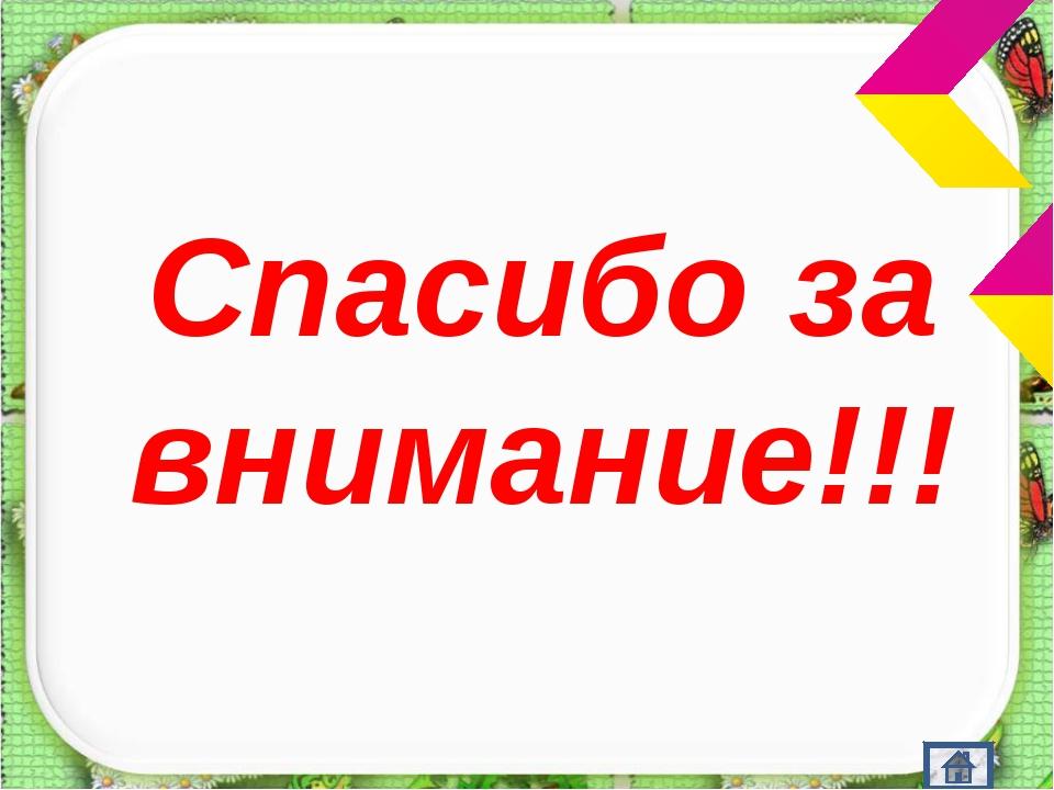 Спасибо за внимание!!! http://aida.ucoz.ru