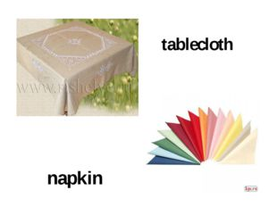 tablecloth napkin