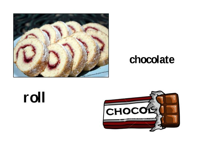 roll chocolate