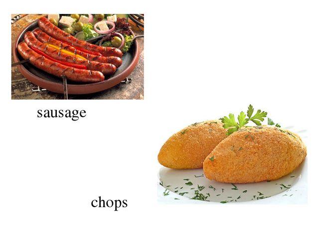 sausage chops