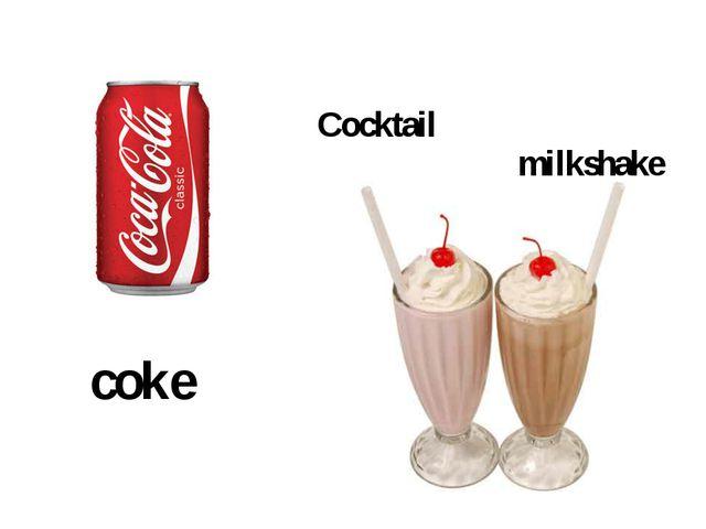 coke Cocktail milkshake