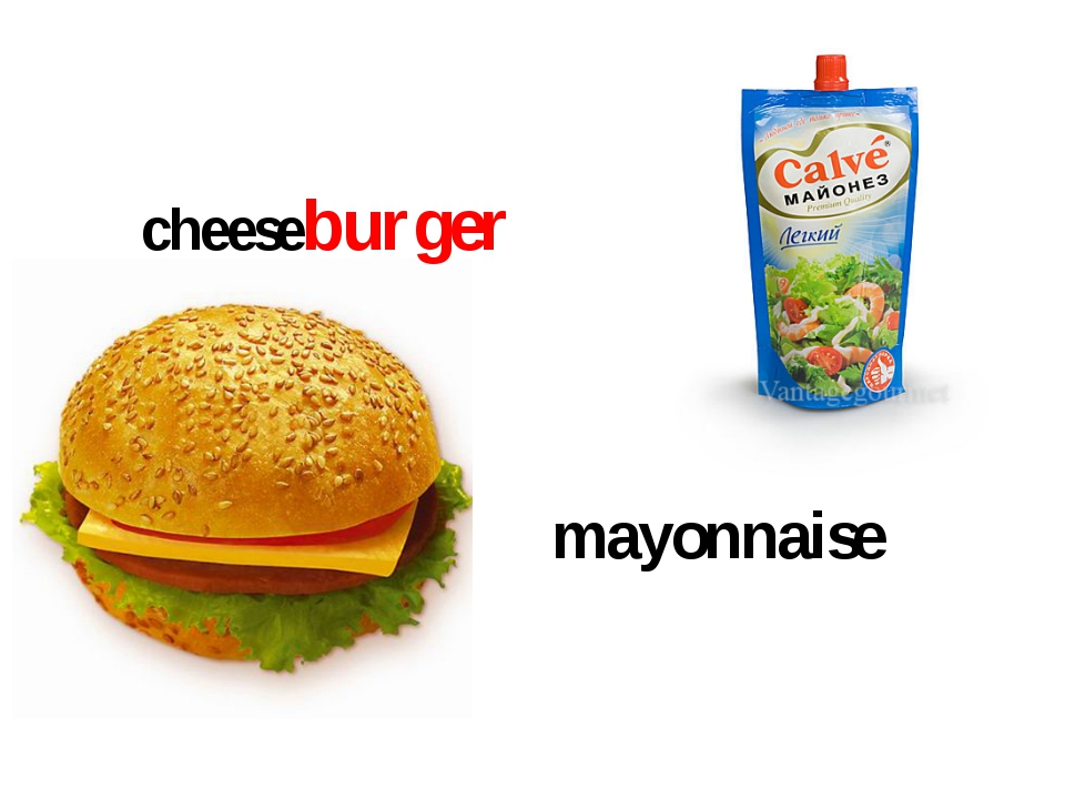 cheeseburger mayonnaise