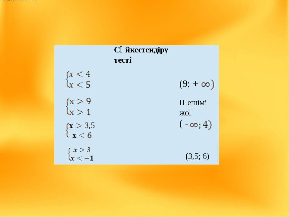 Үй жұмысы №1581 - 4),6); №1582 - 3),4); №1584;