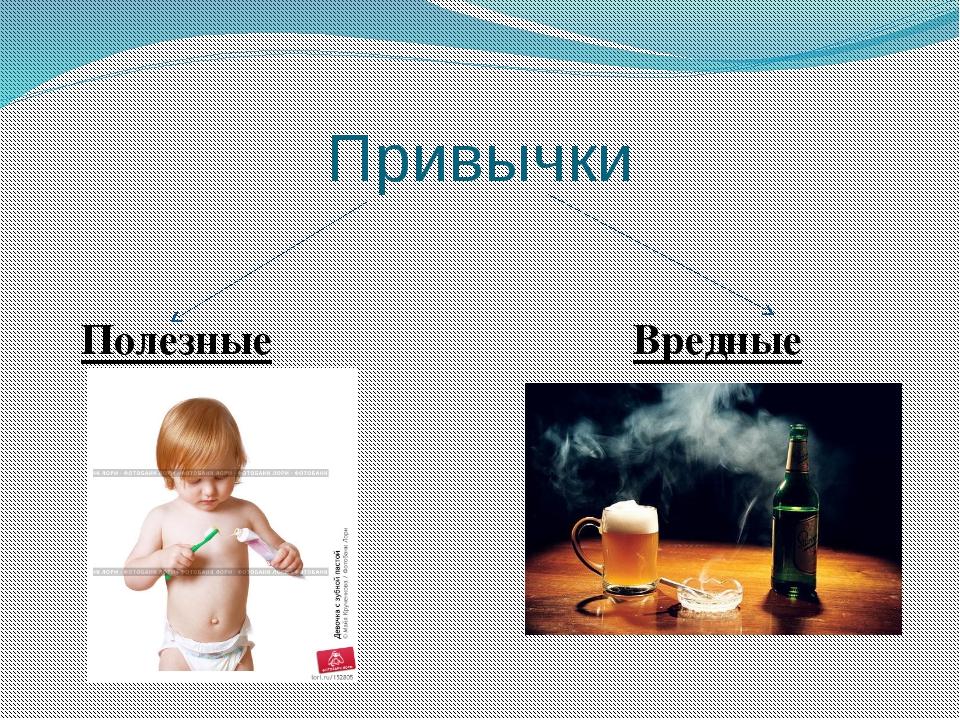 Привычки Полезные Вредные