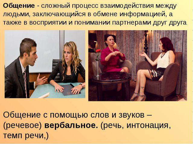 Общение - сложный процесс взаимодействия между людьми, заключающийся в обмене...