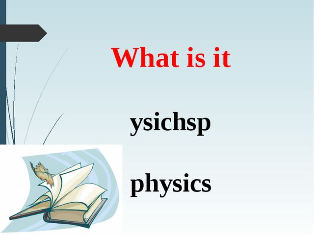 What is it ysichsp physics