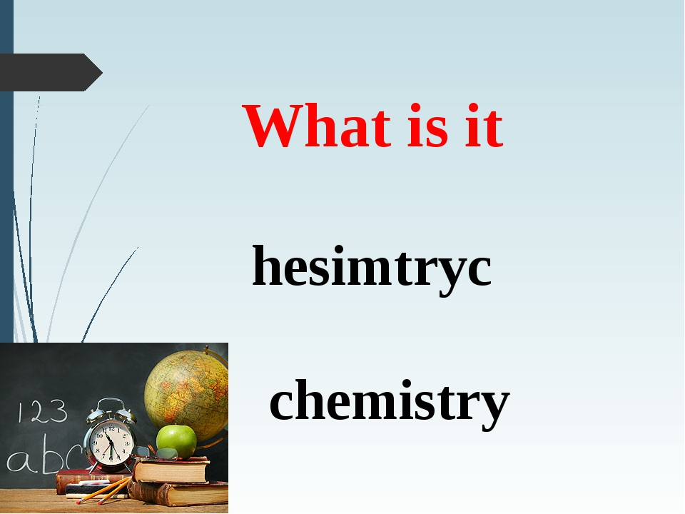 What is it hesimtryc chemistry