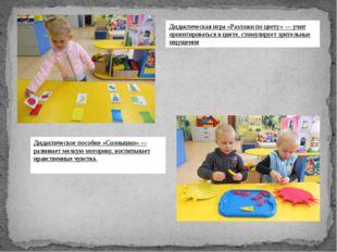 Дидактическая игра «Разложи по цвету» — учит ориентироваться в цвете, стимул