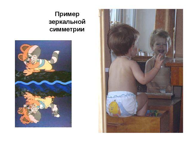 Пример зеркальной симметрии