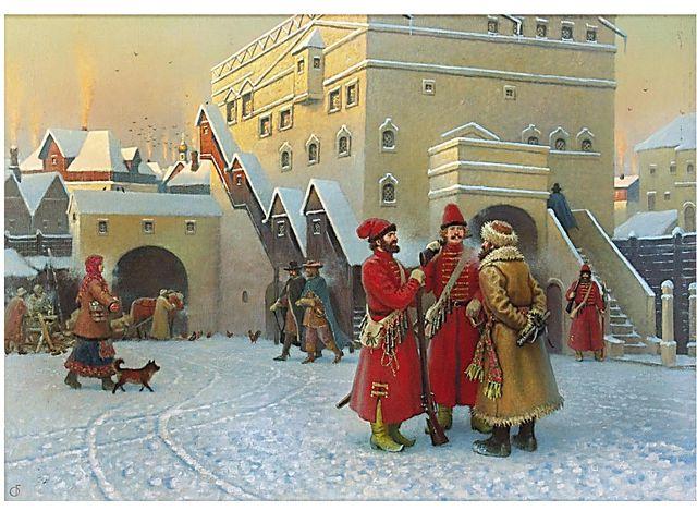 ... Конец ХVII в. в России - сложное, противоречивое время. Московское восста...