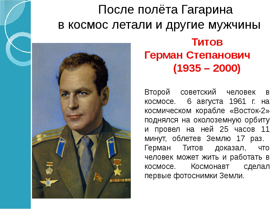 Адриян Николай Григорьевич (1929 – 2004) Третий летчик-космонавт 11 - 15 авгу...