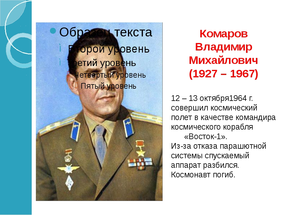 Феоктистов Константин Петрович (1926 – 2009) Родился в г. Воронеже. 12-13 окт...