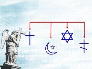 Выбор веры князем Владимиром Хазары Булгары Рим Византия иудаизм ислам католи
