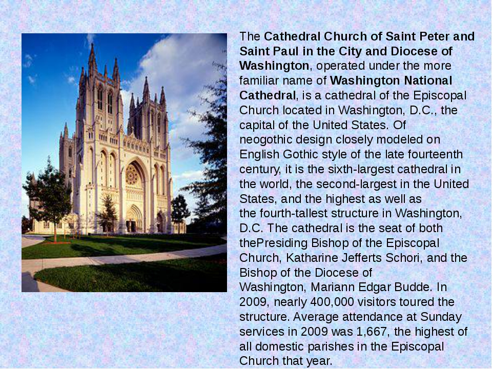 TheCathedral Church of Saint Peter and Saint Paul in the City and Diocese of...