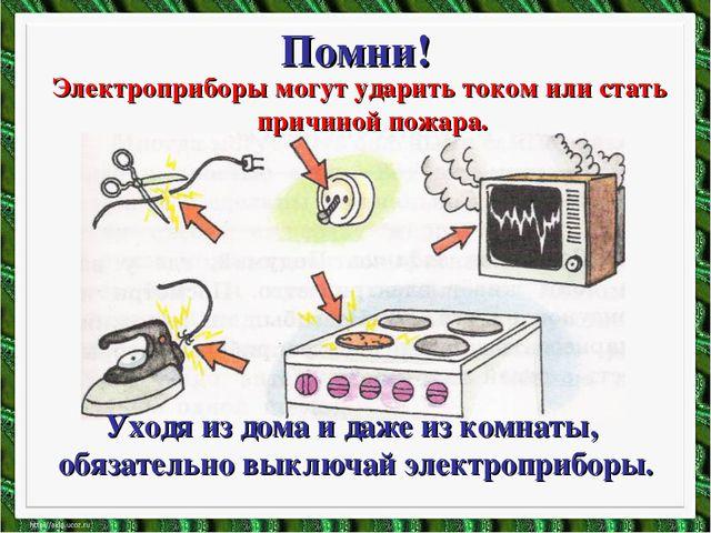 Электроприборы могут ударить током или стать причиной пожара. Электроприборы...