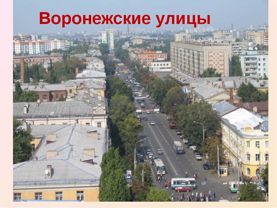 Воронежские улицы