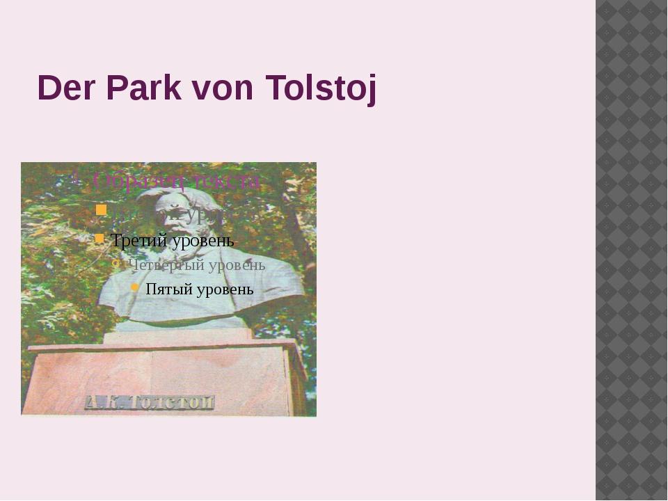 Der Park von Tolstoj