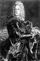 Граф Б.П. Шереметев. С гравюры Антипова. XVIII в.