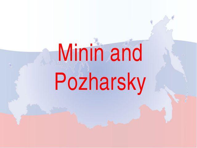 Minin and Pozharsky
