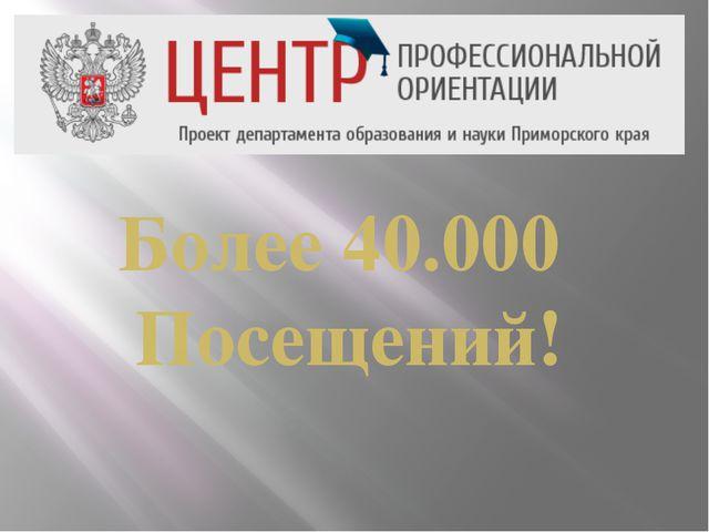 Более 40.000 Посещений!