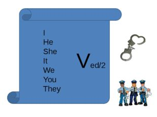 I He She It We You They Ved/2
