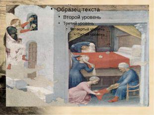 В католической традиции распространена легенда о том, как святитель Николай п