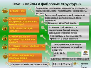 - повторить основные сведения, необходимые для восприятия нового материала;