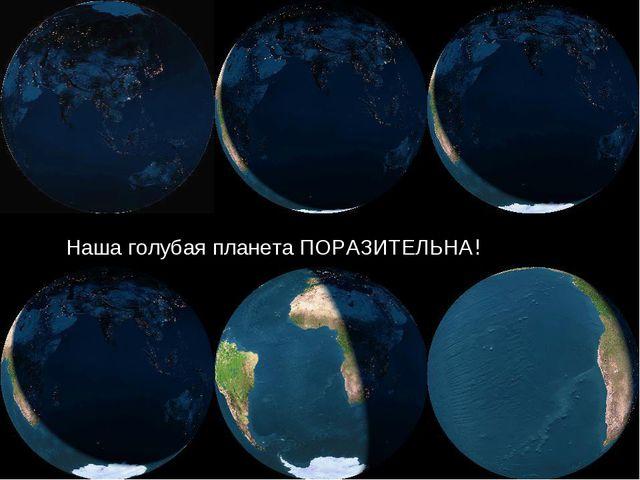 Наша голубая планета ПОРАЗИТЕЛЬНА!