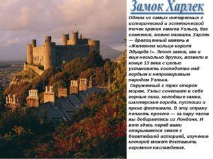 Одним из самых интересных с исторической и эстетической точек зрения замков