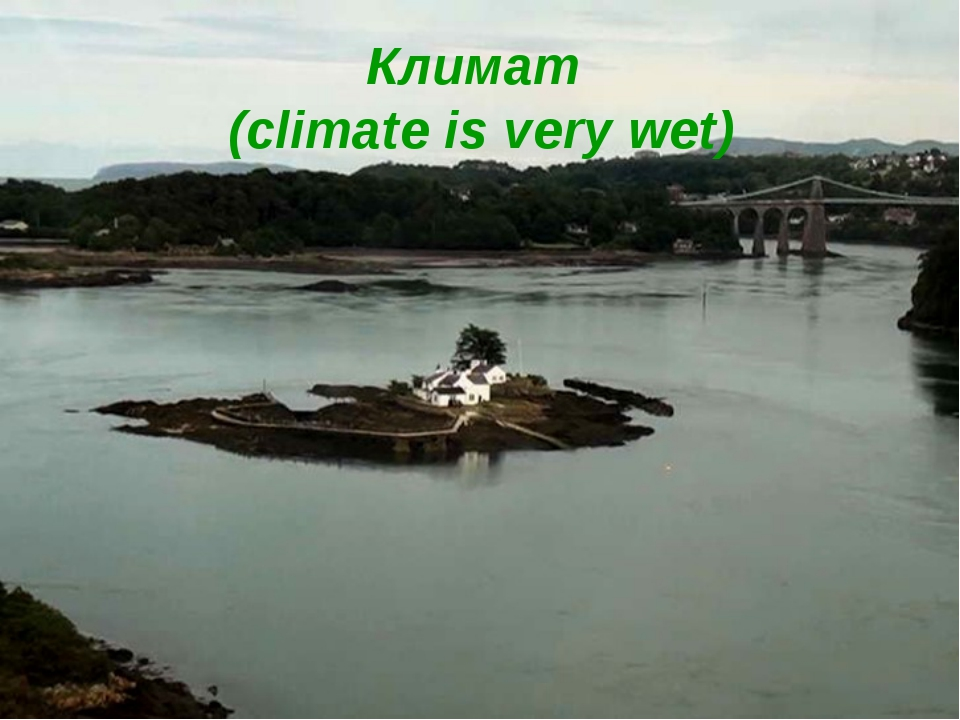 Климат (climate is very wet)
