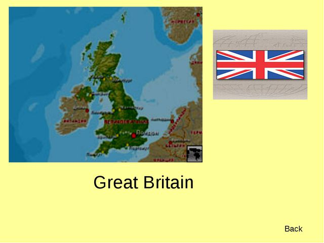 Great Britain Back