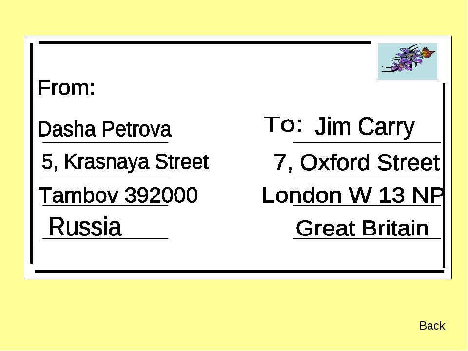 Хорошего, как написать открытку на английском языке презентация