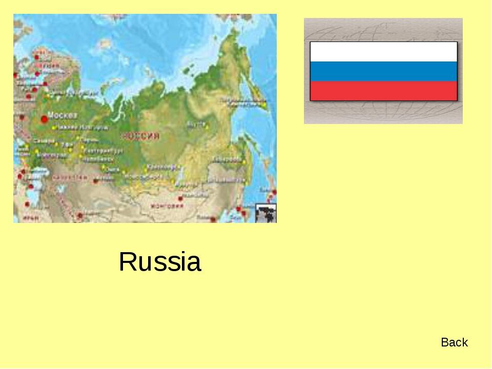 Russia Back