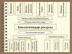 Биологические ресурсы Лесные ресурсы Кормовые ресурсы Растительные ресурсы Ре