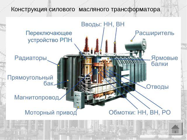 Конструкция силового масляного трансформатора ABB PTMV Poland