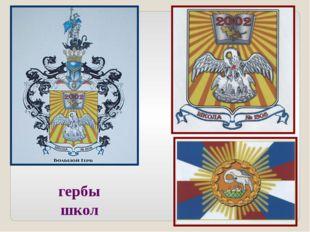 гербы школ