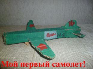 Мой первый самолет!