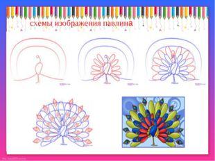 схемы изображения павлина http://linda6035.ucoz.ru/