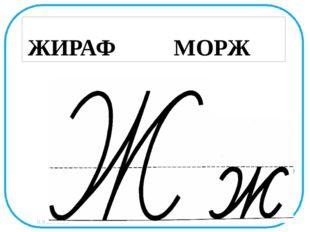 ЖИРАФ МОРЖ Н.Н.Коломина