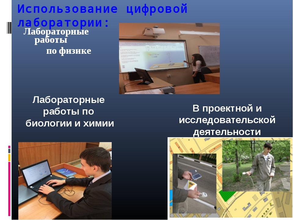 Использование цифровой лаборатории: Лабораторные работы по физике Лабораторны...