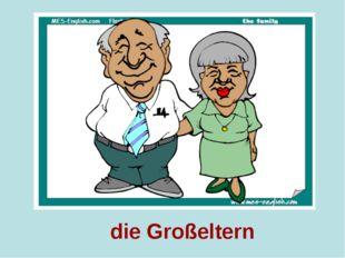 die Großeltern