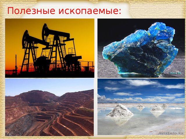Полезные ископаемые: Page