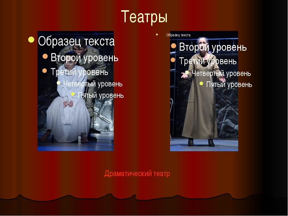 Театры Драматический театр