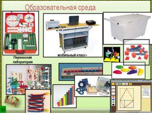 «мобильный класс» Переносная лаборатория учебные модели Образовательная среда