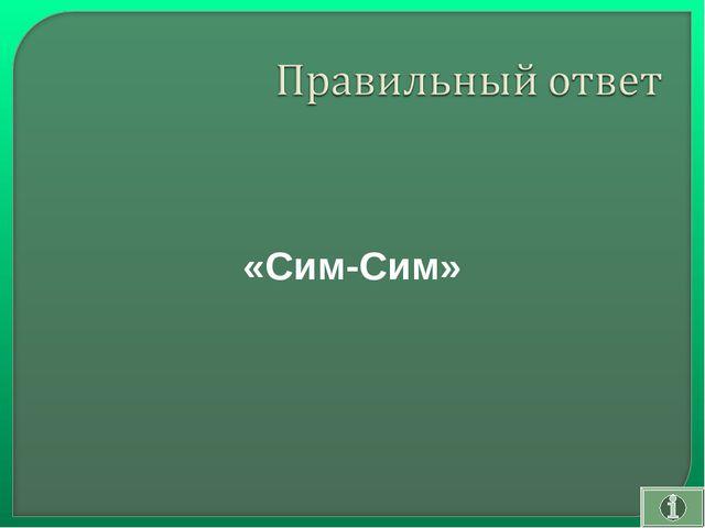 «Сим-Сим»
